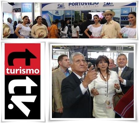 Embajadora de Perú en FITE 2013, Guayaquil, Ecuador