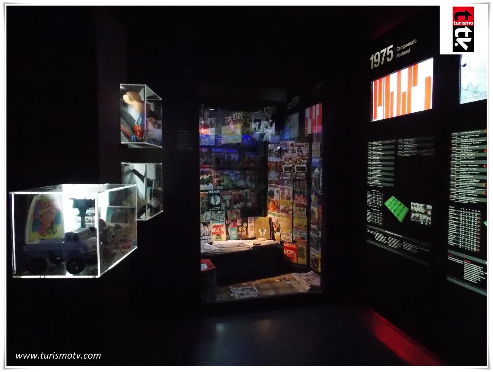 Museo de River en Turismo Tv, Televisión Turística
