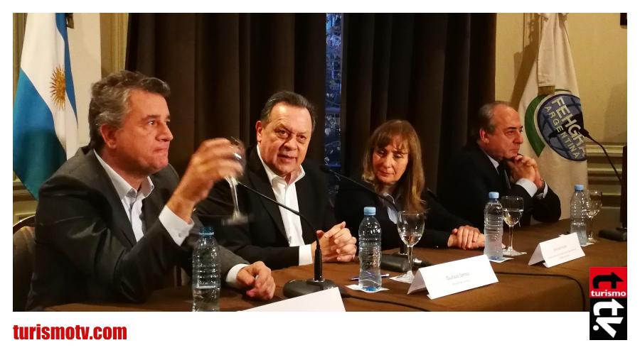 Luis Miguel Etchevehere, Gustavo Santos,  FEHGRA, Graciela Fresno, Walter Brescia COVIAR