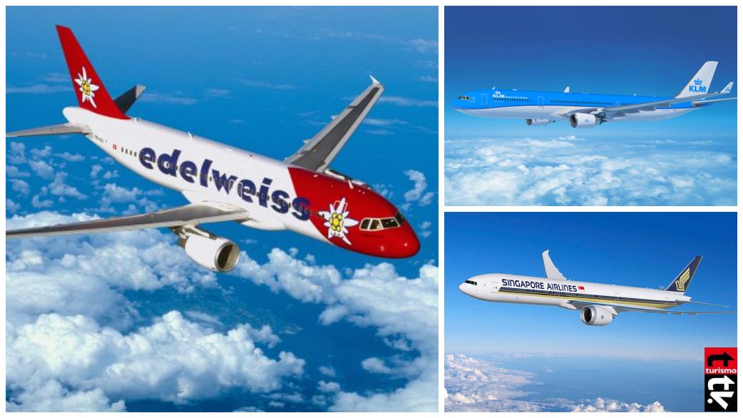 lineas aereas aviones nuevas rutas