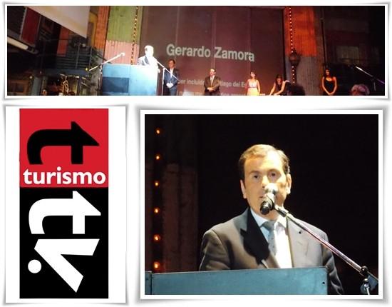 Premio Bitacora 2013: a Gerardo Zamora, por su compromiso con el sector turístico
