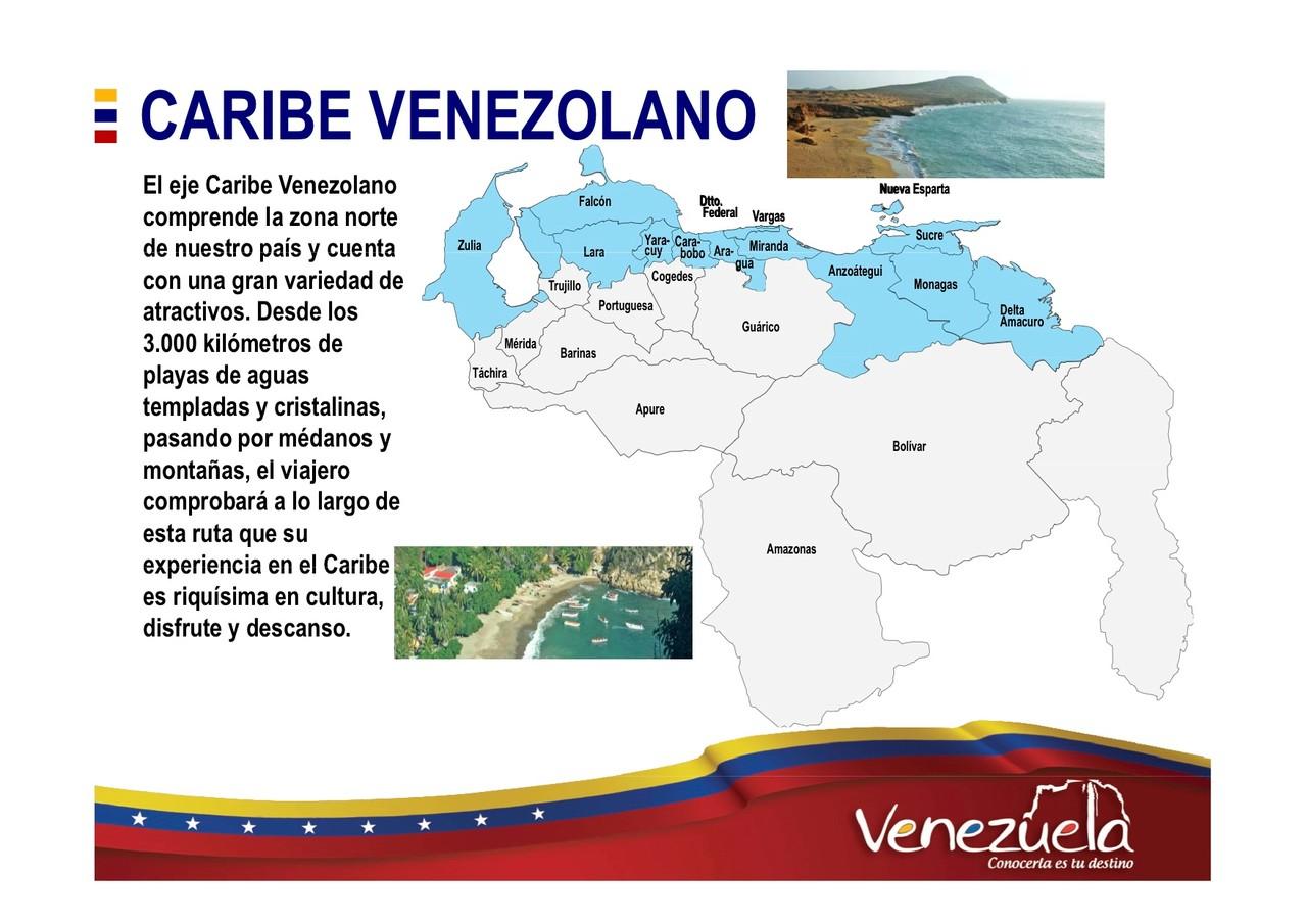 Caribe venezolano Turismo en Venezuela