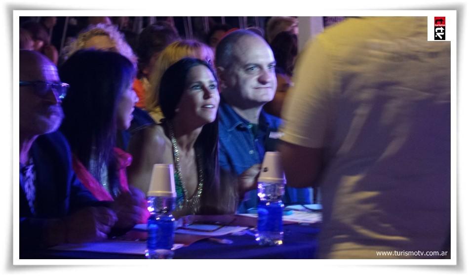 Carolina Baldini y Laurencio Ador, jurados de Miss Pinamar