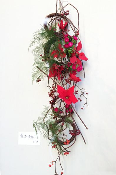 小6 クリスマスの壁掛け作品