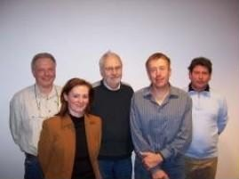 (v.l.n.r.) Andreas Wullenkord, Petra Brinkmann, Hans-Jürgen Wolff, Christian Schürmann, Stephan Blome