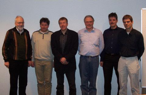 (v.l.n.r) Hans-Jürgen Wolff, Stephan Blome, Christian Schürman, Andreas Wullenkord, Andreas Klein, Erhardt Böhm