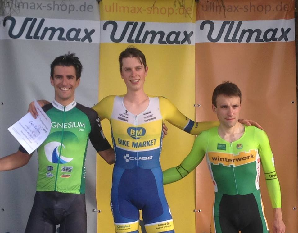 Lars siegt im EZF der Ullmax Radsporttage