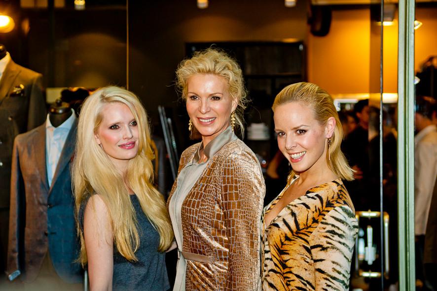 """Model und Schauspielerin Mirja Du Mont, Society-Lady Grit Weiss, """"Let's Dance""""-Star Isabel Edvardsson"""