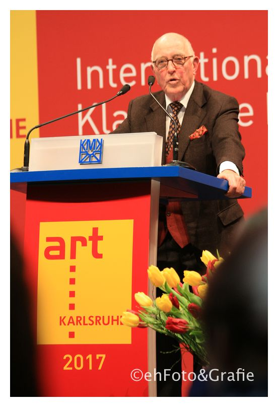 Laudatio: Klaus Gallwitz, Kunsthistoriker