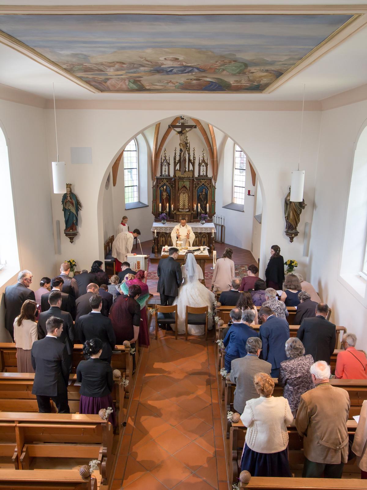 St. Gallus Kirche, Rißeg
