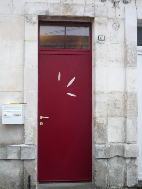 Porte d'entrée mixte vue extérieur