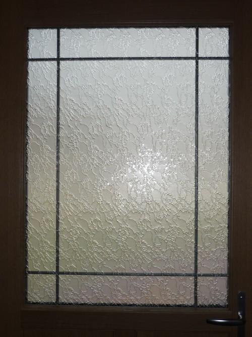 Fenêtre mixte avec vitrage delta