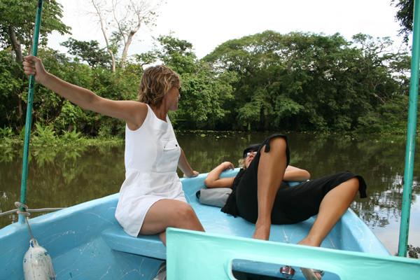 Visita a las isletas, dominio de los Chamorro, Pella y Cafeteros pastosos.