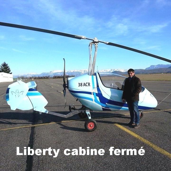 Autogire Liberty Trixy aviation Volitude