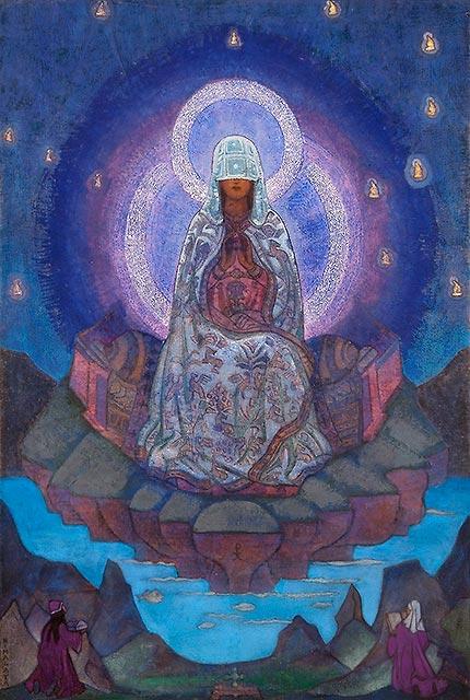Mutter der Welt, Nicholas Roerich, New York, 1924