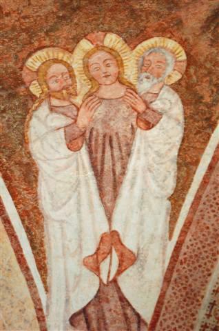 Die Heilige Dreifaltigkeit, St. Jakobus, Urschalling