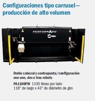 PA1100FW Sistemas de Automatización de Soldadura Miller