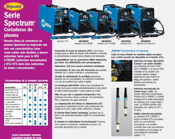 Spectrum 375 X-TREME Cortadora de plasma