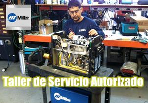 Servicio y mantenimiento Miller