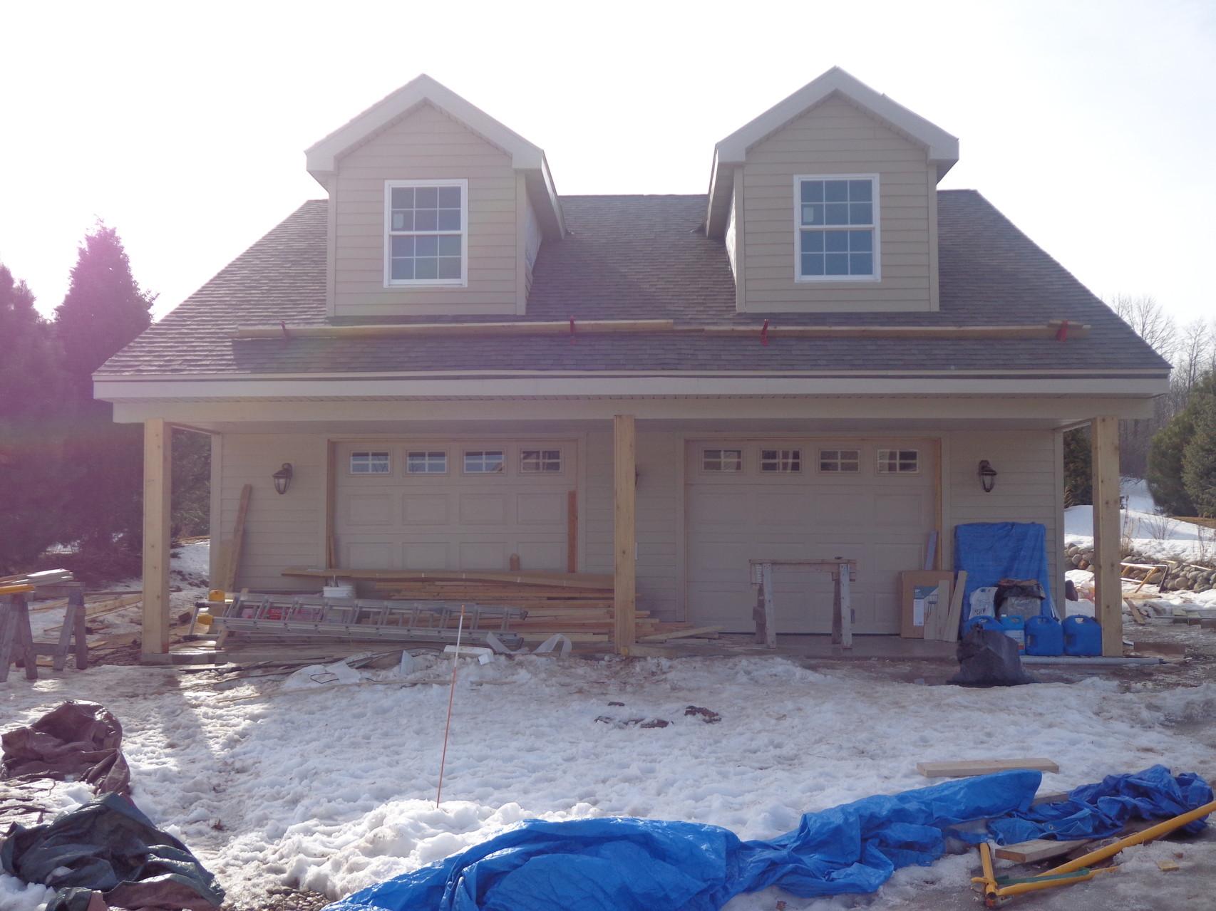 Saukville garage, 2013-2014