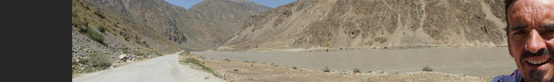 Panorama - im Hintergrund Afghanistan...