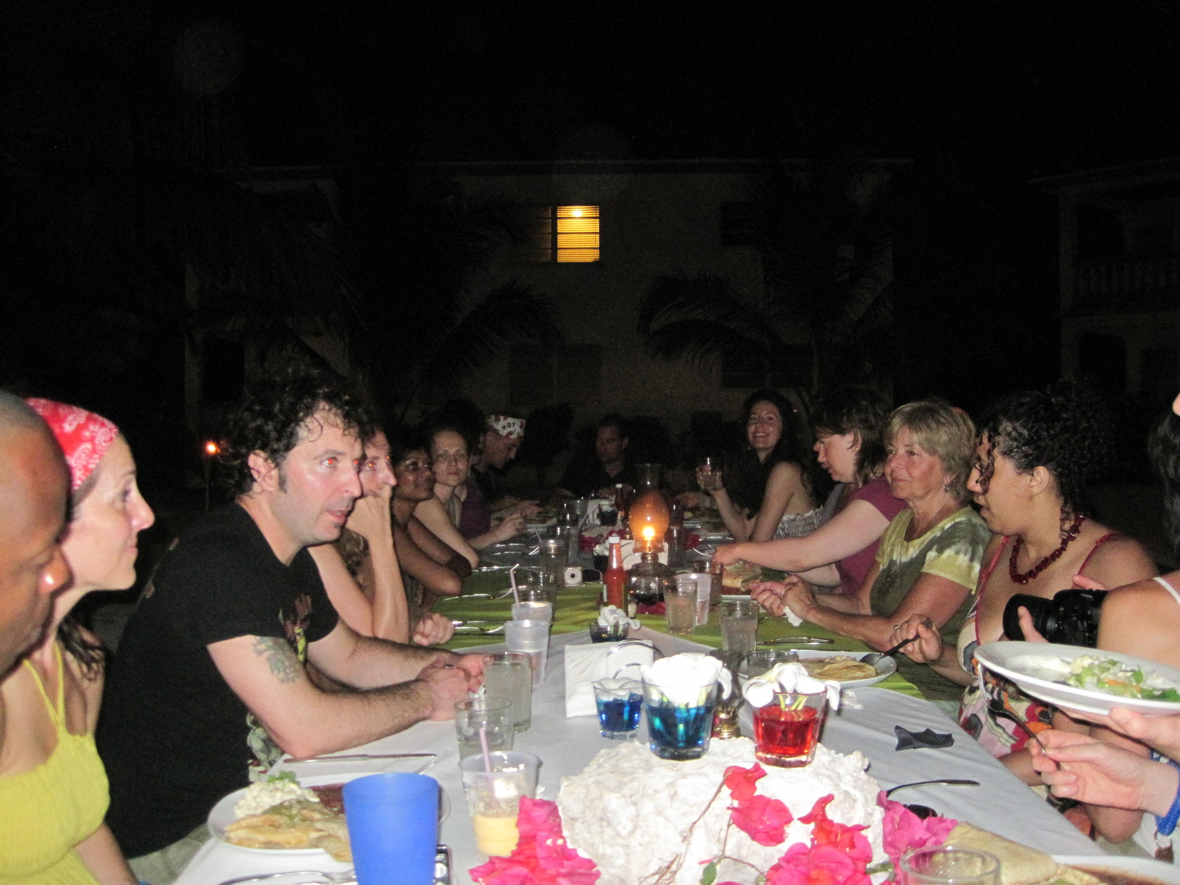 Belizean Shores Resort held one of the dinners on the beach.  What an amazing night it was!