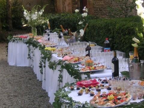 Country wedding buffet richard traiteur charentes a saintes - Deco buffet champetre ...