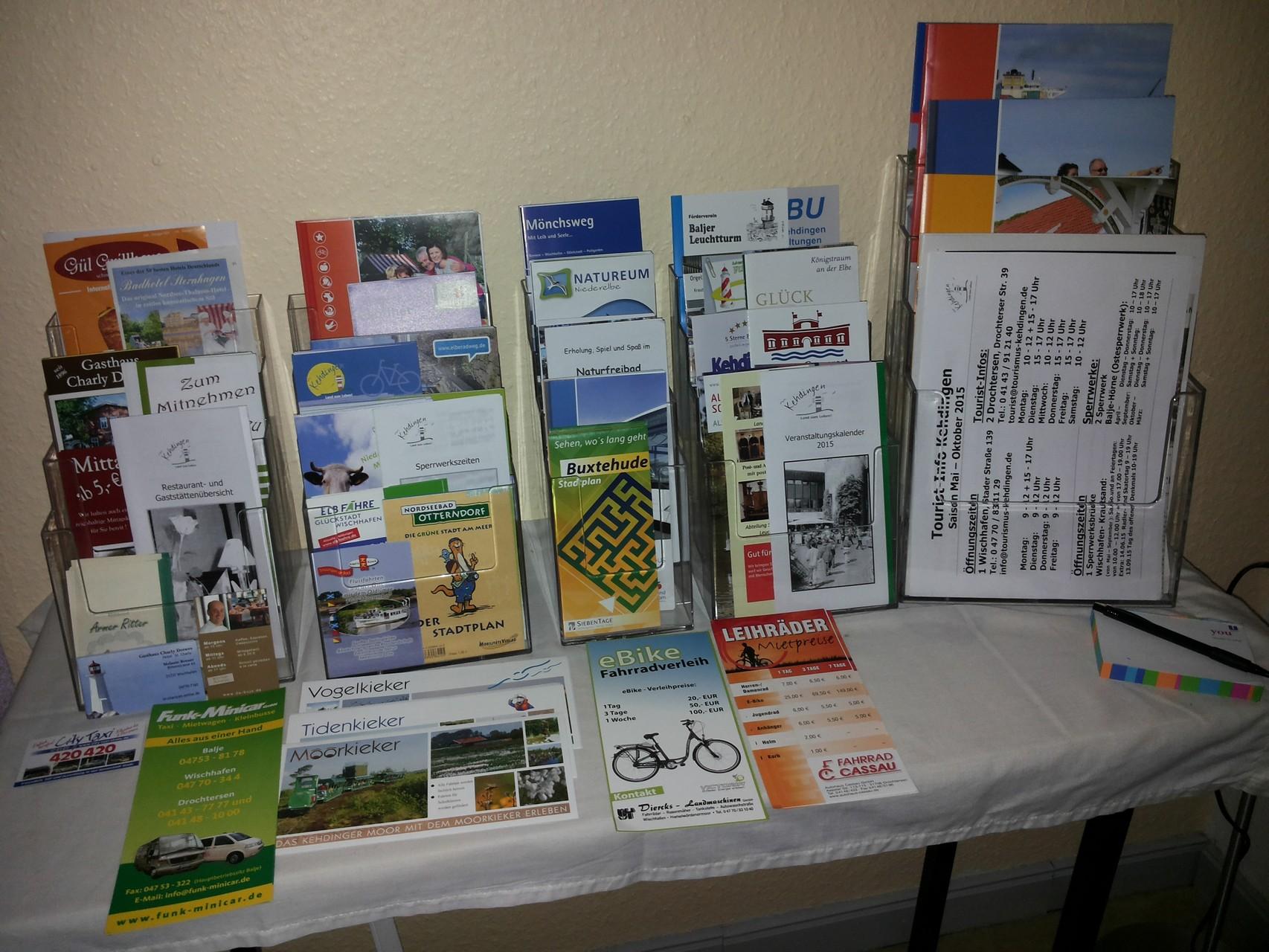 Hier gibt es viele Informationen über Ausflugsziele und Unternehmungen