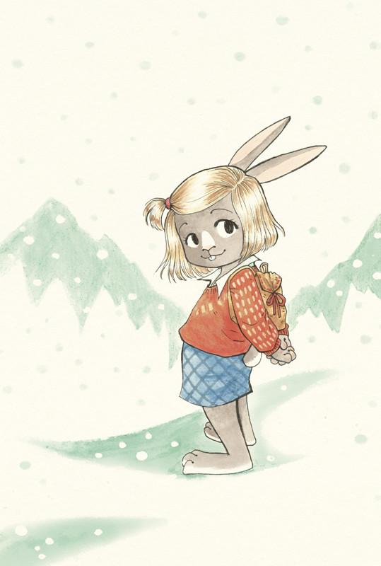 Decemberchild - Cover - biographical Children's Book, watercolor illstration (upl feb15)