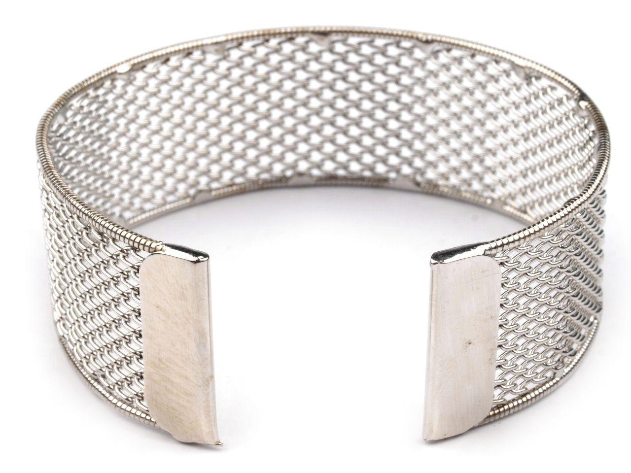 Armreif Netz-Rohling für Perlen - Schmuck, Polymer Clay, Resin und ...