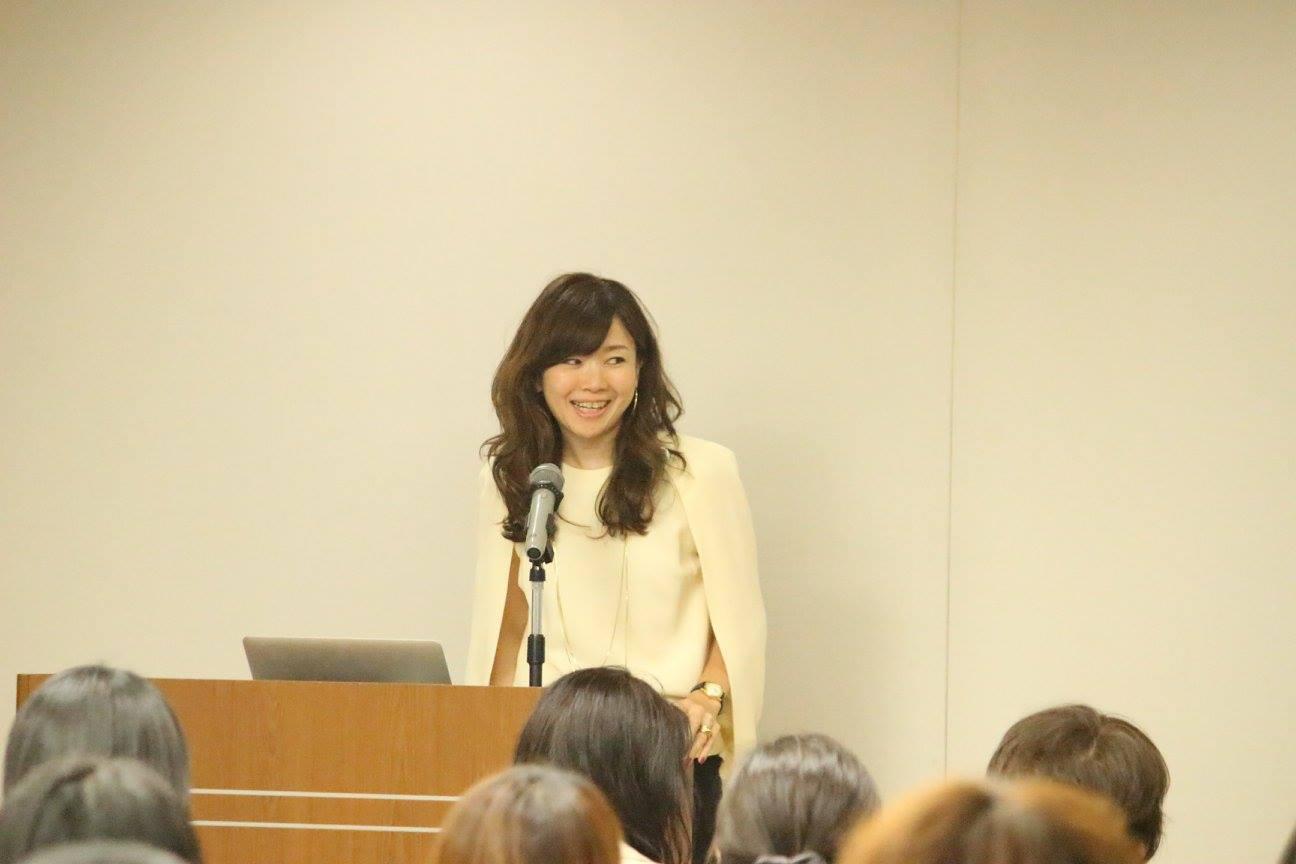 メインゲスト講師の鈴木尚子さん
