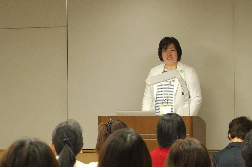 チャプター代表の大津泰子さんの挨拶