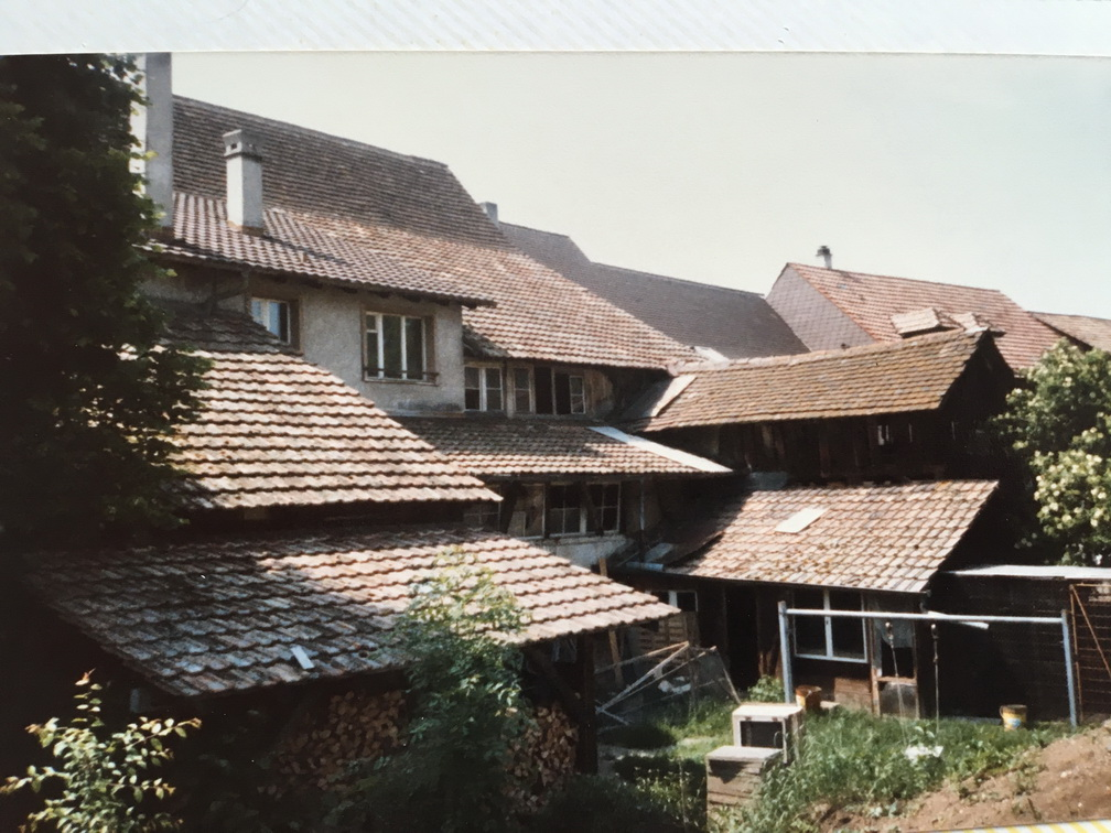 Bauernhaus vor dem Umbau 1987