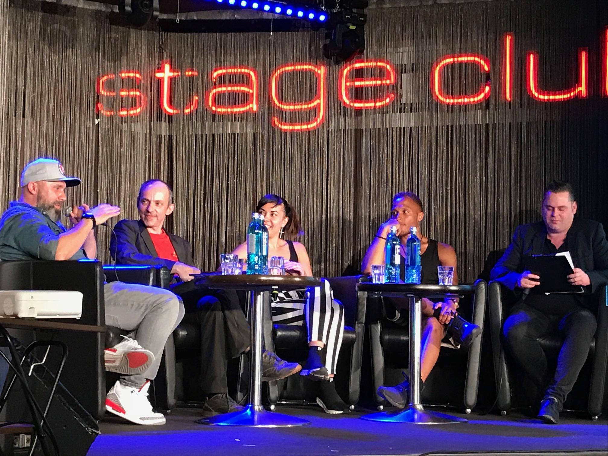 Grenzen der Kunstfreiheit?! - Preise und Provokationen, 2018, Stage Club