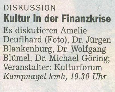 Welt Kompakt, 6. November 2009