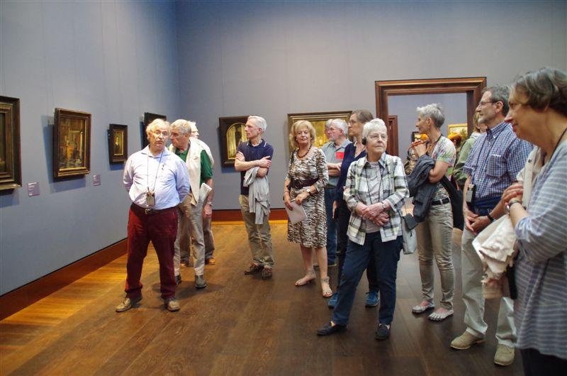 Führung von Thomas Sello durch die neu eröffnete Hamburger Kunsthalle, 2016