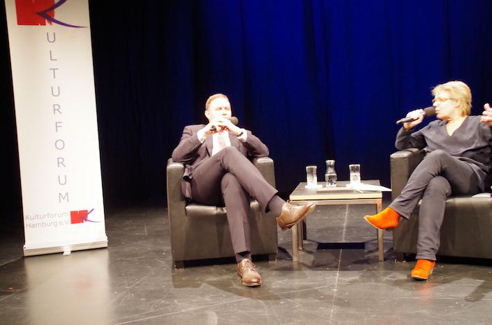 Dr. Carsten Brosda, Staatsrat im Gespräch mit Catarina Felixmüller, 2016