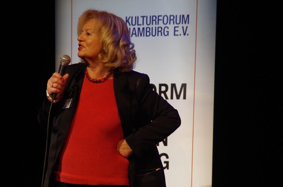 Cornelie Sonntag-Wolgast, Vorsitzende des Kulturforums