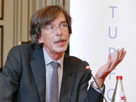Der scheidende Oberbaudirktor Prof. Jörn Walter