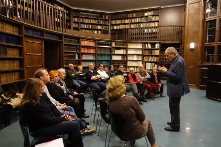 Jahreshauptversammlung des Kulturforums 2017 in der Warburg Bibliothek, Hamburg