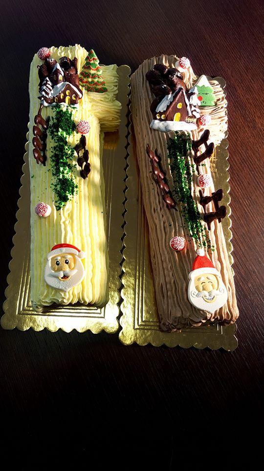 Tronchetto Di Natale Al Cioccolato Fondente.Tronchetti Di Natale E Monoporzioni Natalizie Spaccio Aziendale