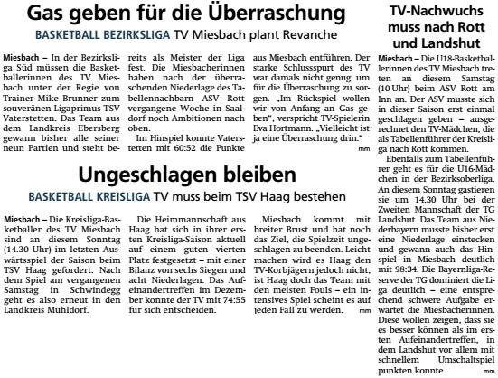 Artikel im Miesbacher Merkur am 7.3.2020 - Zum Vergrößern klicken