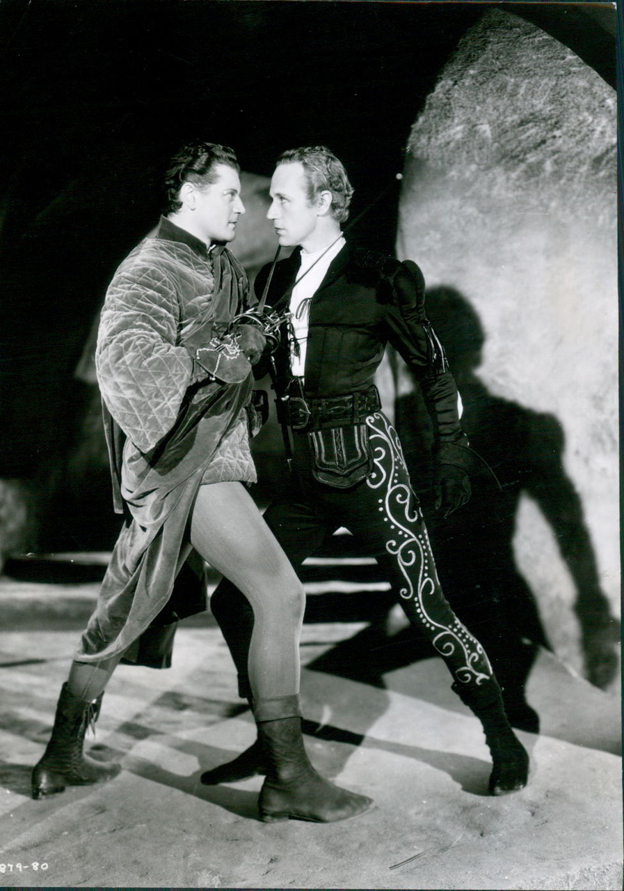 Le pourpoint est également visible lors de la scène du duel entre Paris et Roméo.