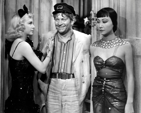 DAUGHTER OF SHANGHAI de ROBERT FLOREY avec ANNA MAY WONG 1937