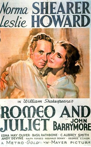 ROMEO AND JULIET 1936 avec LESLIE HOWARD et NORMA SHEARER