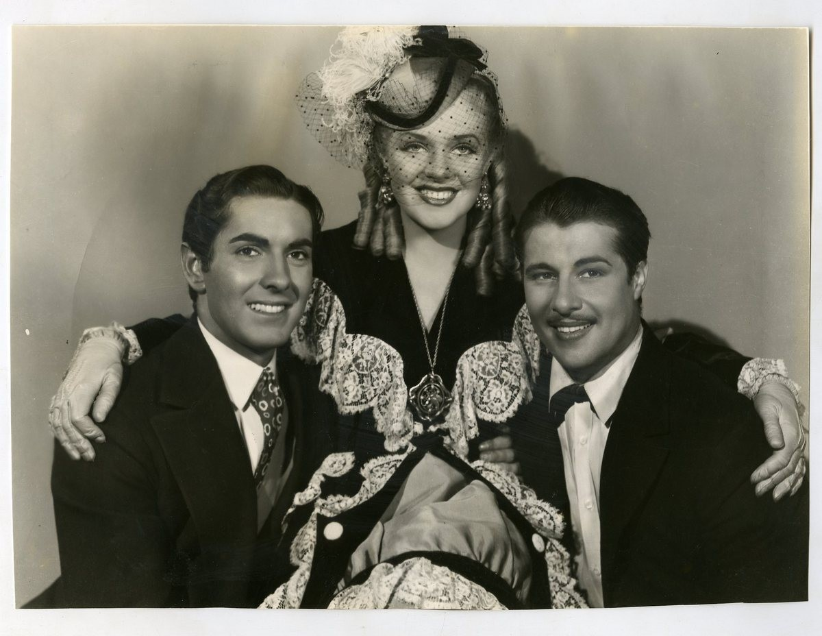 TYRONE POWER, ALICE FAYE, DON AMECHE
