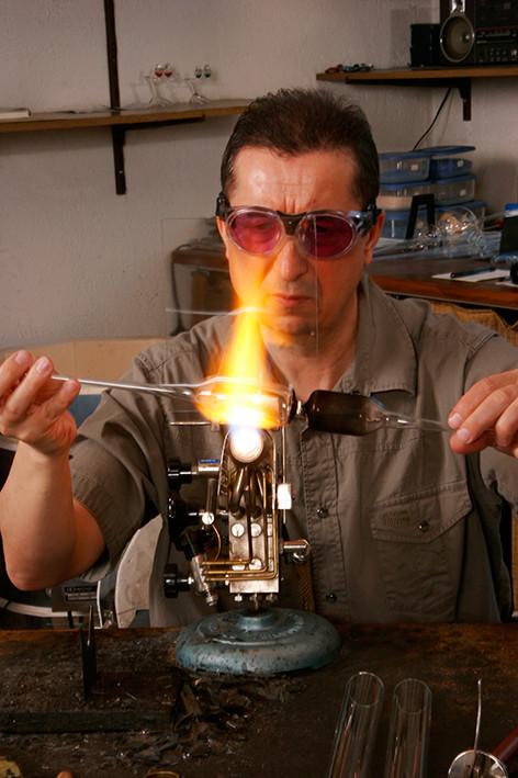 Herstellen eines Kerzenständers