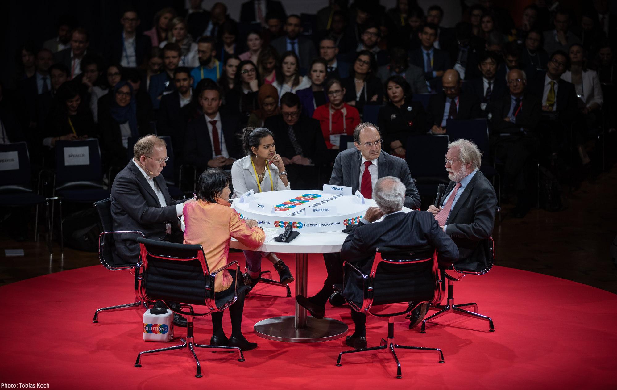 YGC Kavindya Thennakoon (Sri Lanka) joining the Closing Plenary at Global Solutions Summit