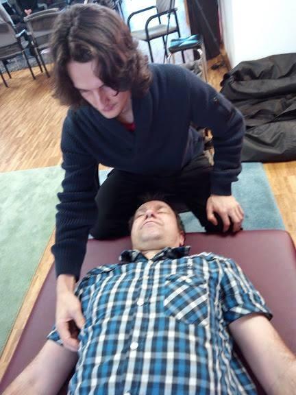Beim Training im NeuroScanBalance Institut in Ravensburg