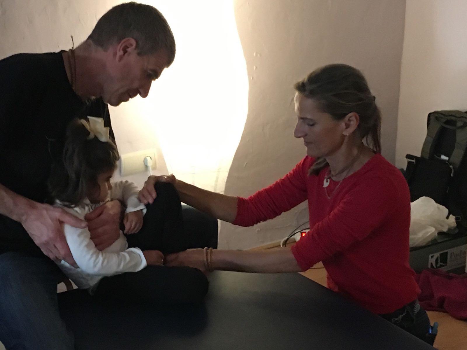 Sylvia Leiner Shordike mit Axel Wucherer und Kind
